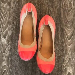 ✨J Crew ✨ Mila Cap Toe Ballet Flat Size 10